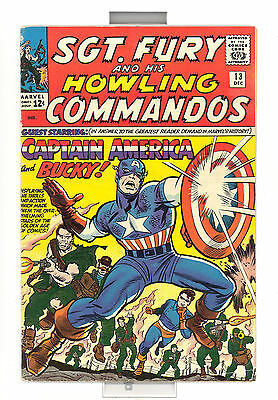 Sgt Fury And His Howling Commandos #13 Vg Marvel Comics Silver Age L@@k Rare