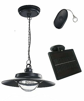 Nature Power 21030 Hanging Solar Powered LED Shed Light with Remote Control,