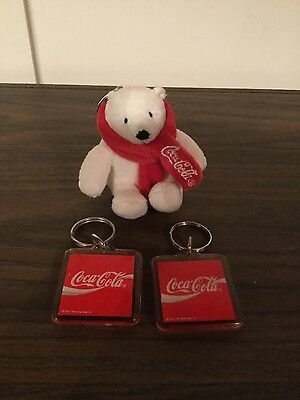 Coca Cola Keychain Set of 3