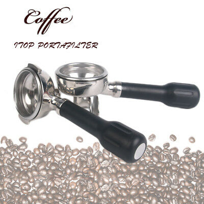 Filterbowl Portafilter Espresso Coffee Machine Group Handle single double outlet