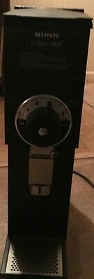 BUNN G2 HD Black Commercial Coffee Grinder Great Condition