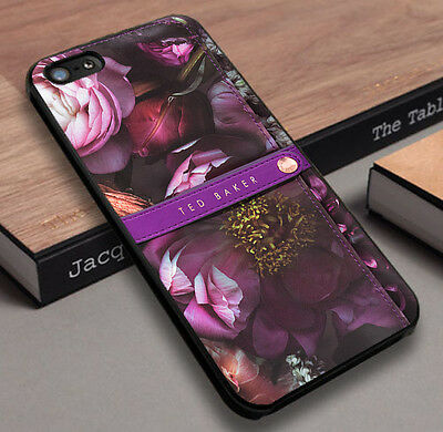 New Ted Baker Collage vintage Fit For Samsung Iphone 4 5 6 7 Ipod Cover Case