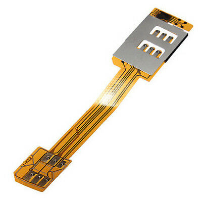 Hot Dual SIM Card Adapter for Samsung Galaxy S3 S4 S5 Note iPhone 4 Phone