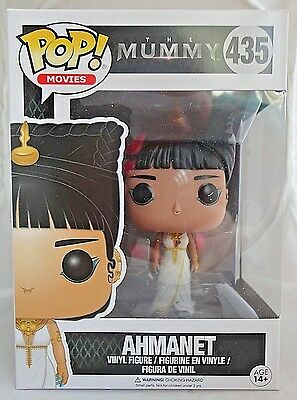 AHMANET 435 Funko POP The Mummy Universal movie vinyl figure New In Package