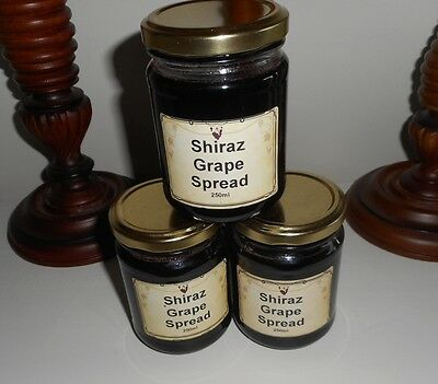 Shiraz spread + Quince Jelly + Fig jam 6 pack with a difference = $7.50 each