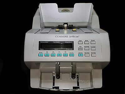 Cummins Jetscan Currency Counter Model 4062 Fully Reconditioned