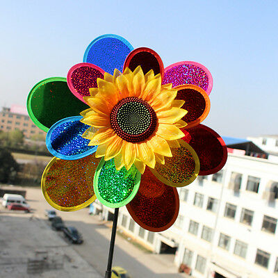 Baby Windmill Wind Spinners Whirligig Children Multicolors-Toys Classic Rainbows