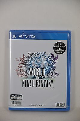NEW PS Vita PSV World of Final Fantasy FFW (HK Chinese) + DLC