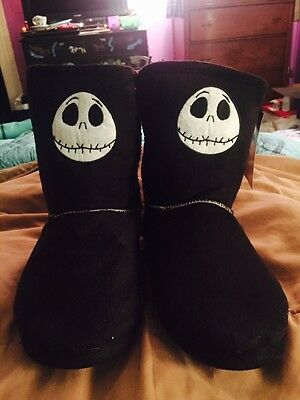 Nightmare Before Christmas Slipper Boots