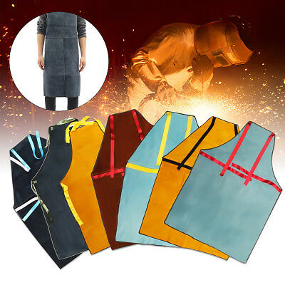 "40""x28"" XL Welding Equipment Welder Heat Insulation Protection Cow Leather Apron"