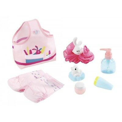Zapf Creation Baby Born Wash & Go Bathing Set & Accessories Official New