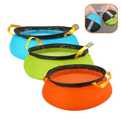 New Foldable Camping Cooking Water Basin Outdoor Water Sink Traveler Water Pots