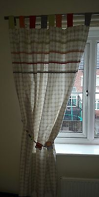 Mamas and Papas Jamboree Curtains Excellent Condition