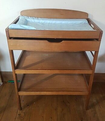 Cot bed and Baby change table