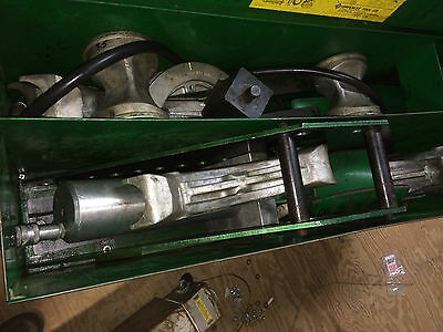 Greenlee 885 Hydraulic Conduit Bender with 960 electric pump
