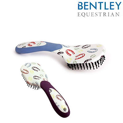 Bentley Equestrian Horse Shoe Mane & Tail Brush SALE