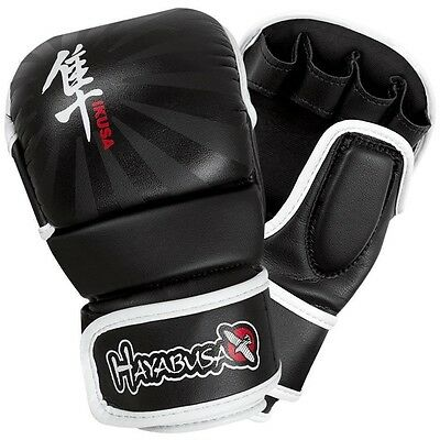 Hayabusa MMA Gloves Ikusa 7oz Hybrid Leather Boxing Training Striking New