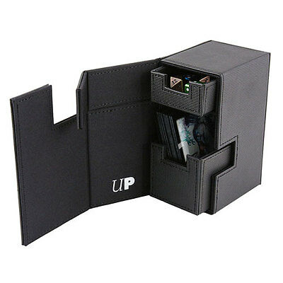 ULTRA PRO M2 Deck Box - All Black NEW * Gaming Trading Cards Storage