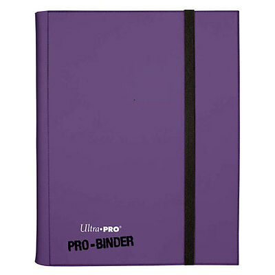ULTRA PRO Binder - Colour PRO Purple NEW * Gaming Trading Cards Storage