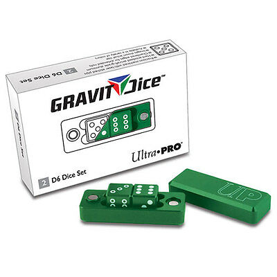 ULTRA PRO Gravity Dice - D6 - Emerald NEW * Gaming Accessories
