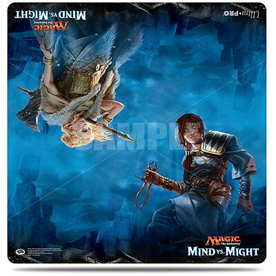 ULTRA PRO Magic: The Gathering Duel Decks Mind Vs Might March 2017 24x24 Playmat