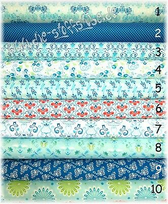 10 Stoffe, Patchwork, Stoffpaket 236  Tante Ema, Baumwolle, Reste