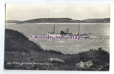 f1220 - Isle of Scilly Ferry - Scillonian - postcard
