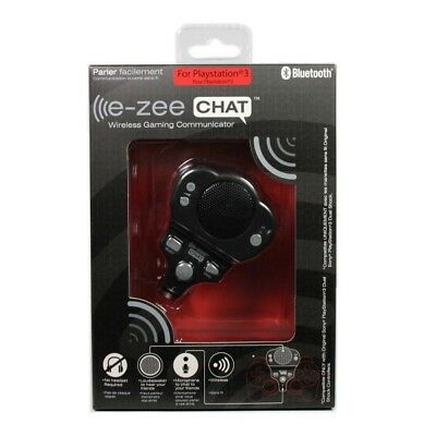 PS3 e-zee CHAT Wireless Gaming Communicator (No Headset Required) - Brand New!