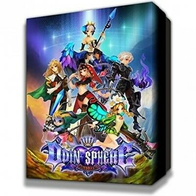 Odin Sphere Leifthrasir Storybook Edition PS4 Game - Brand New!