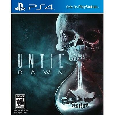 Until Dawn PS4 Game - Brand New!