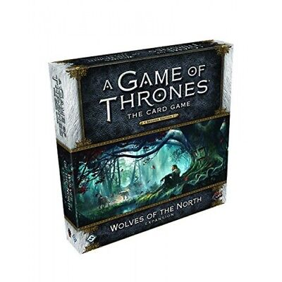 A Game of Thrones The Card Game (Second Edition) Wolves of the North - Brand ...