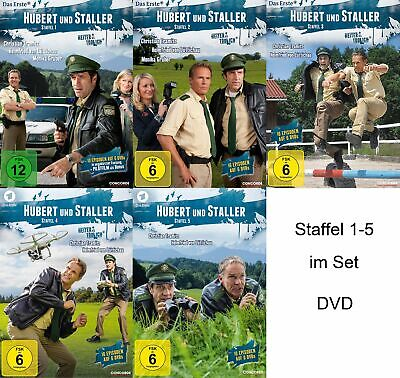 Hubert und Staller - Staffel/Season 1+2+3+4+5 # 30-DVD-SET-NEU