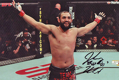 Johny Hendricks Autographed Signed 8X12 inches UFC MMA Fighter Photo