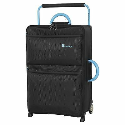 NEW IT Luggage World's Lightest 2-Wheel Medium Suitcase - Black
