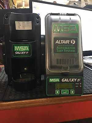 MSA Altair 5 Multigas Detector Automated Test System GALAXY w/Cylinder Holder