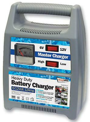 6/12V 12 AMP BATTERY CHARGER Automotive Fittings - 6/12V 12 AMP BATTERY CHARGER