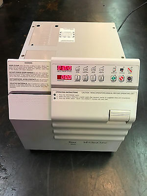 """Ritter M9 Ultraclave Autoclave sterilizer """"Very Clean"""" W/ trays"""