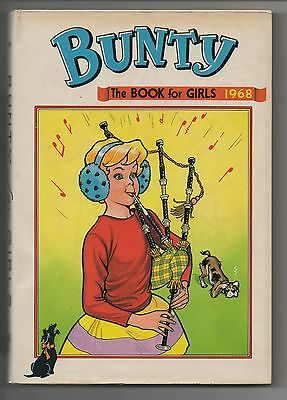 DC Thomson - Bunty Annual - 1968 - DUST JACKET - IMMACULATE!