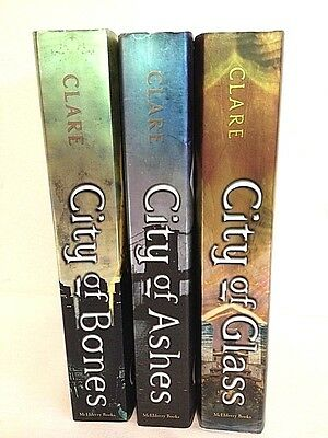 Lot of 3 (#1-3) THE MORTAL INSTRUMENTS Series Matched Set of Books City of Bones