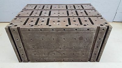 """T-Slot Workholding Tombstone Riser Block Fixture Table Angle Block 36""""x26""""x18"""""""