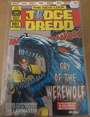 Judge Dredd 1- Quality Comics (1986) 1st Issue Collectors Edition