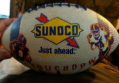 Sunoco 1997 Football Just Ahead Touchdown, White, Official Size