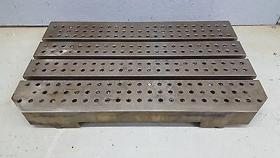 """18""""x30"""" T-Slot Sub Plate Steel Fixture/Mounting Plate Slotted Table Tapped"""