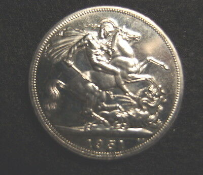 Great Britain 1951 Proof Like Crown 5 Shilling Coin
