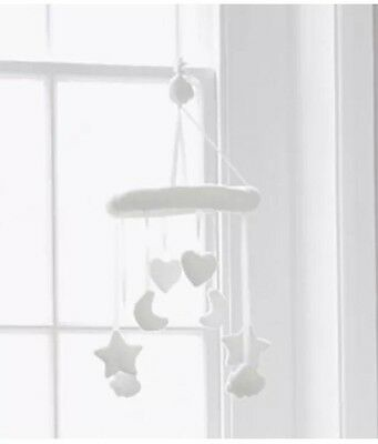 The Little White Company Soft baby Cot Mobile BNWT RRP £25