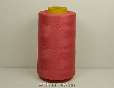 1 SPOOL HONEY GOLD 100/%  POLYESTER SERGER QUILTING THREAD T27 6000 YARDS #715