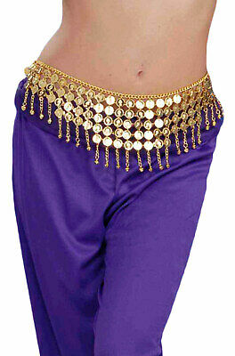 Brand New Arabian Desert Princess Coin Belt Costume Accessory