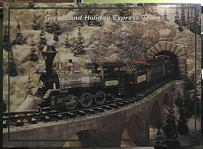 1994 GreatLand Holiday Express-G Gauge Train Set Brand new! W/18' of Track!