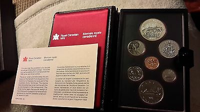Absolutely Stunning 1980 Canada Double Dollar Proof Set