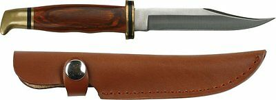 Master Cutlery HUNTING  & SKINNING Knife with Leather Sheath - FAST DISPATCH!